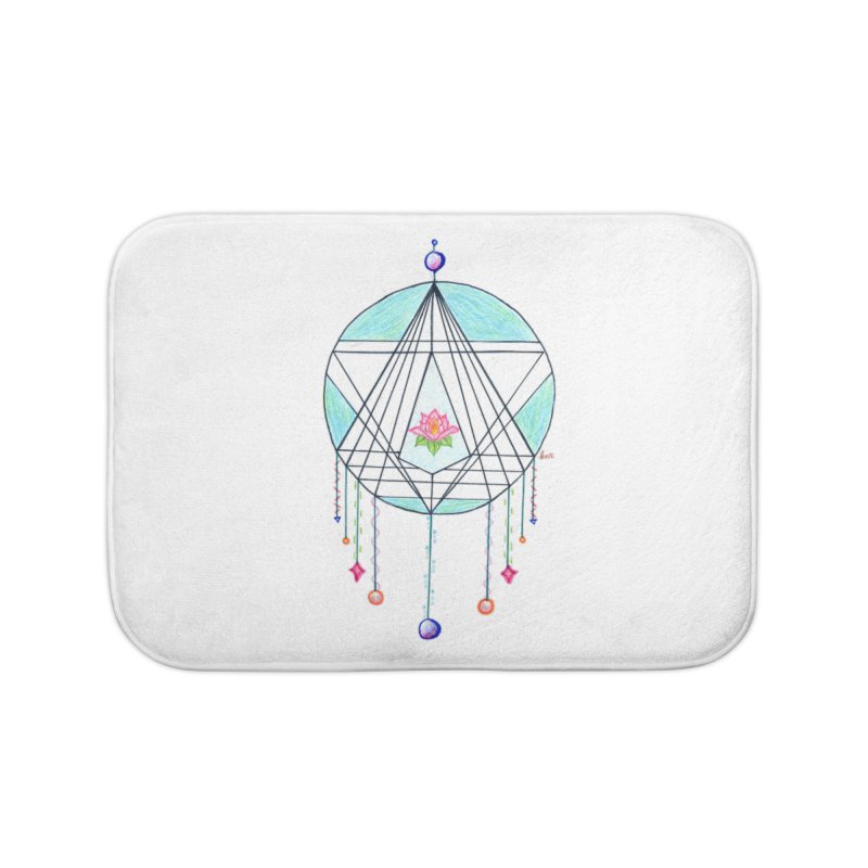 Dreamcatcher Home Bath Mat by The Life of Curiosity Store