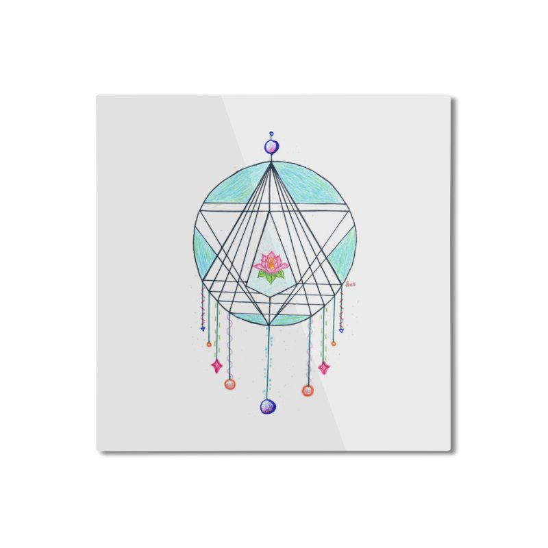 Dreamcatcher Home Mounted Aluminum Print by The Life of Curiosity Store