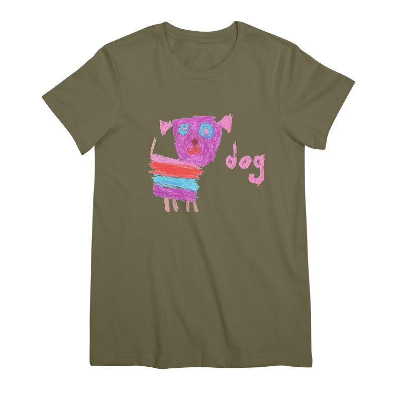 Dog Women's Premium T-Shirt by The Life of Curiosity Store
