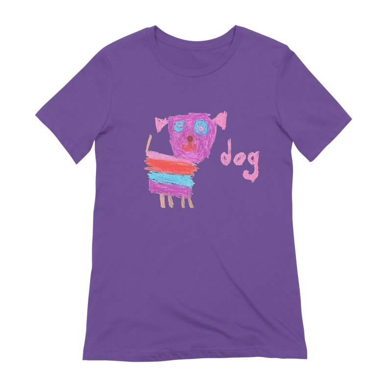 Dog Women's Extra Soft T-Shirt by The Life of Curiosity Store
