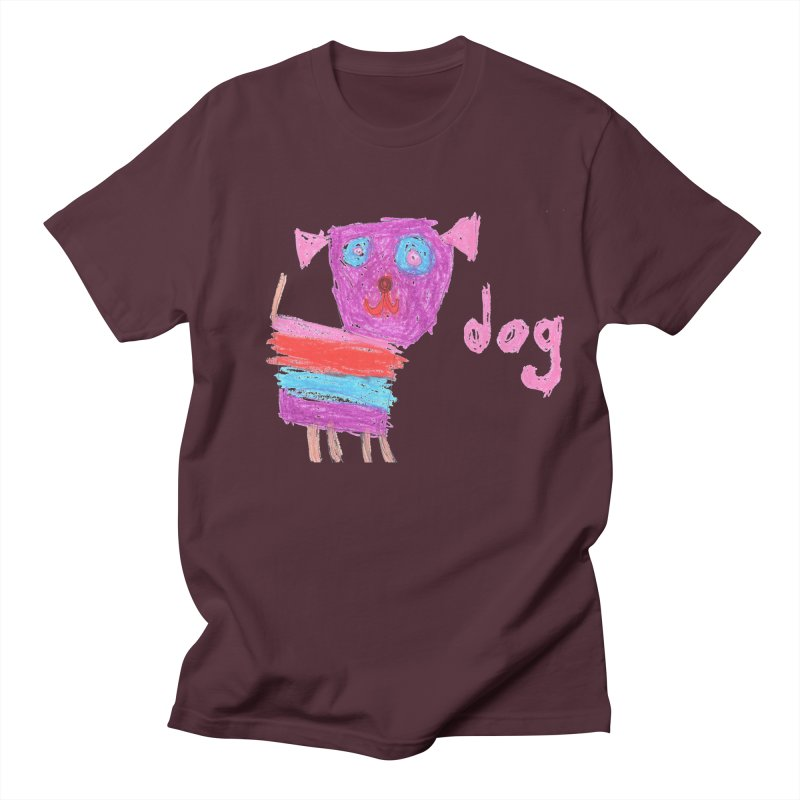 Dog Men's T-Shirt by The Life of Curiosity Store
