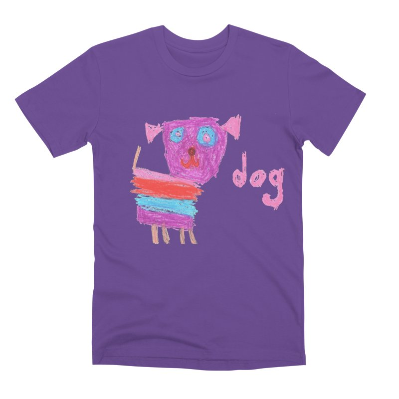 Dog Men's Premium T-Shirt by The Life of Curiosity Store