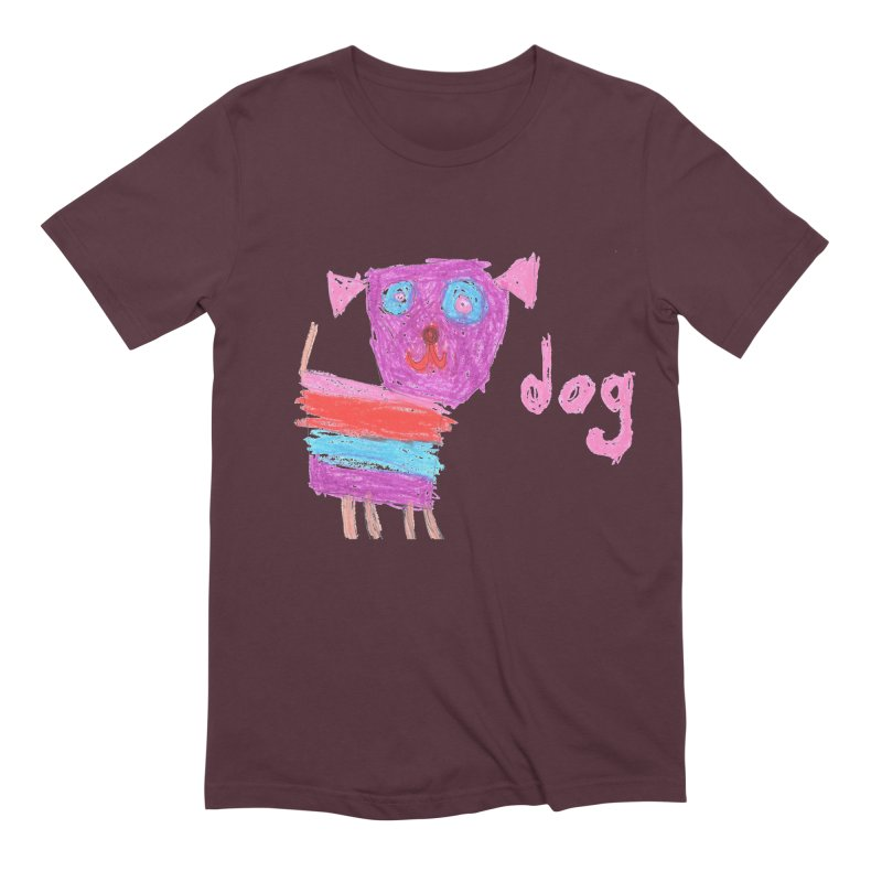 Dog Men's Extra Soft T-Shirt by The Life of Curiosity Store
