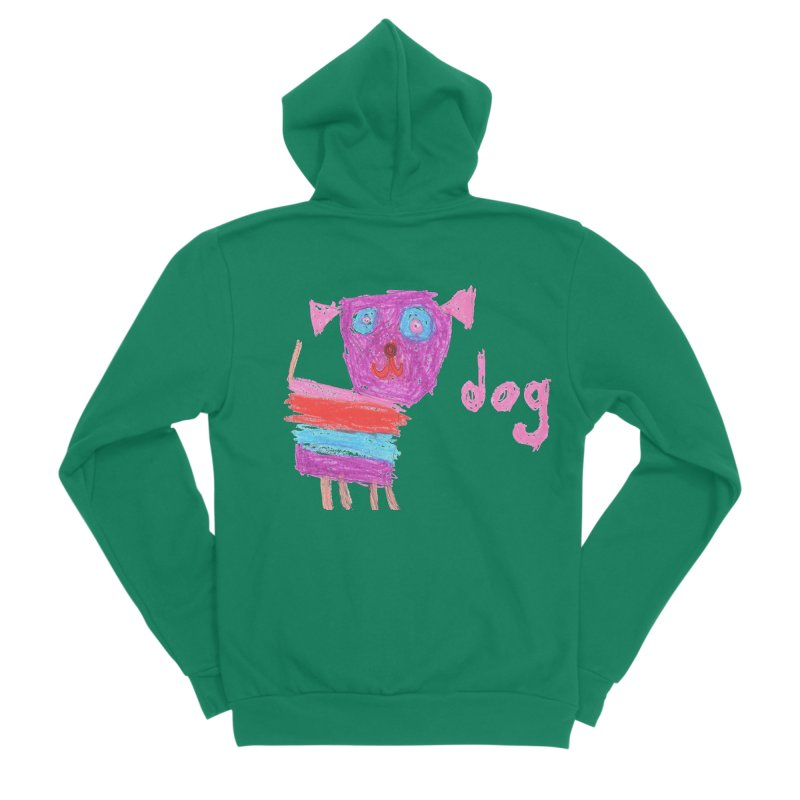 Dog Women's Zip-Up Hoody by The Life of Curiosity Store