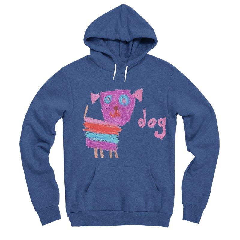 Dog Men's Sponge Fleece Pullover Hoody by The Life of Curiosity Store