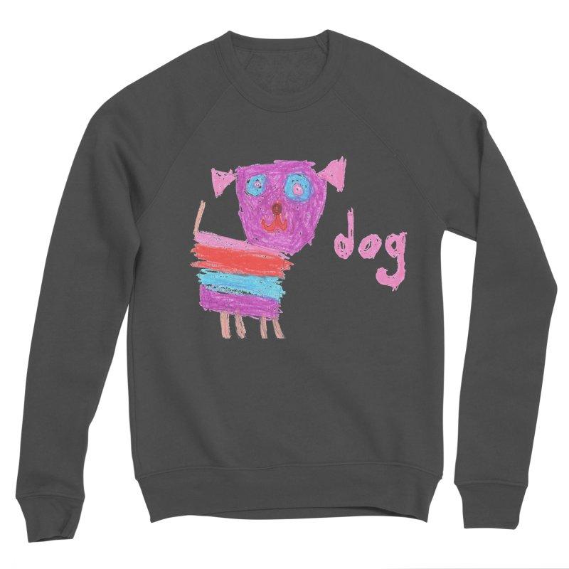 Dog Men's Sponge Fleece Sweatshirt by The Life of Curiosity Store