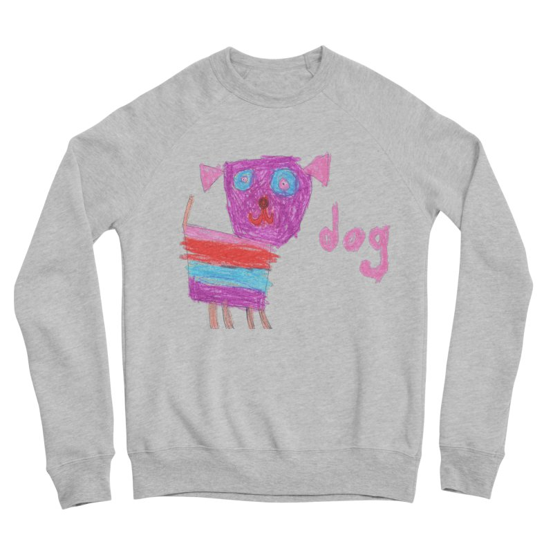 Dog Women's Sponge Fleece Sweatshirt by The Life of Curiosity Store