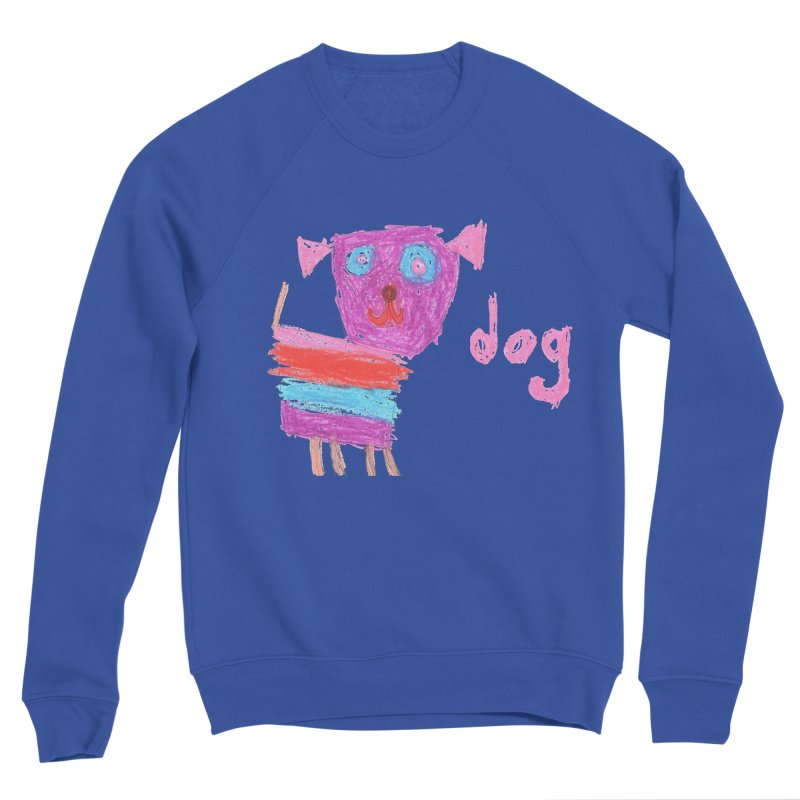 Dog Women's Sponge Fleece Sweatshirt by The Life of Curiosity Store