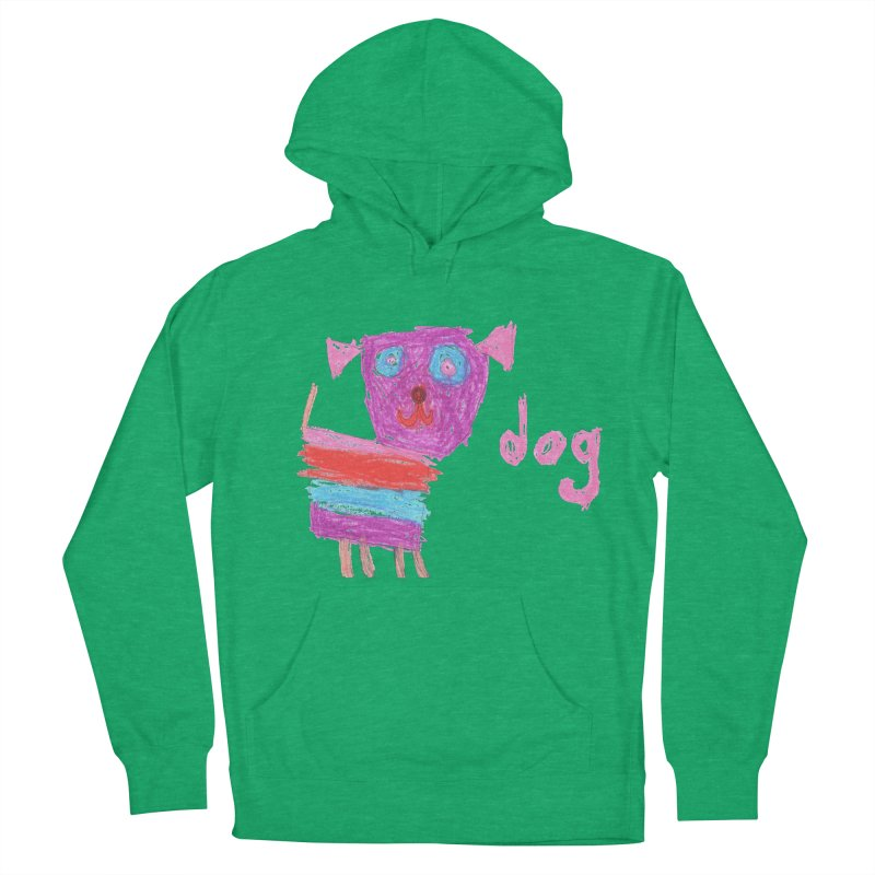 Dog Men's French Terry Pullover Hoody by The Life of Curiosity Store