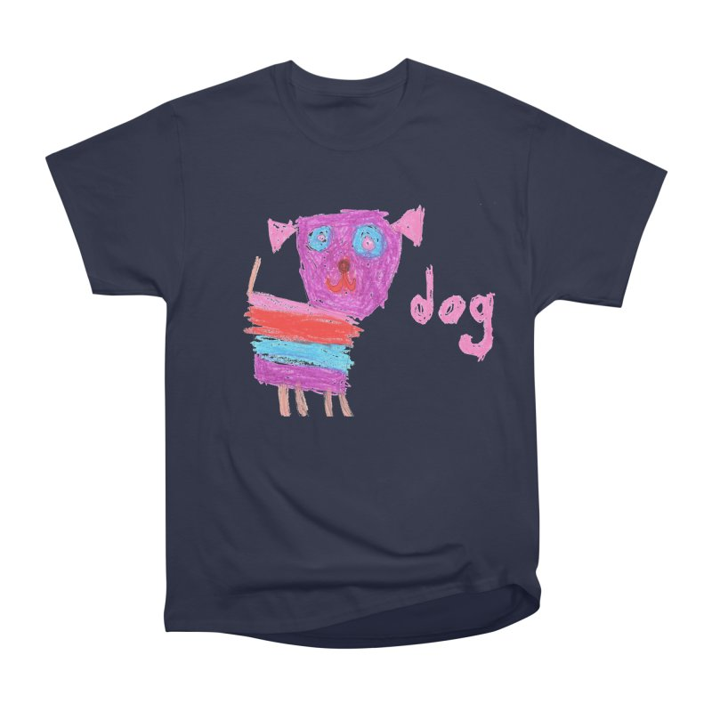 Dog Men's Heavyweight T-Shirt by The Life of Curiosity Store