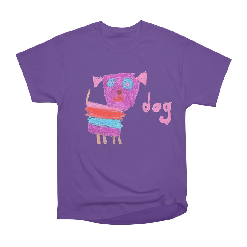 Dog Women's Heavyweight Unisex T-Shirt by The Life of Curiosity Store