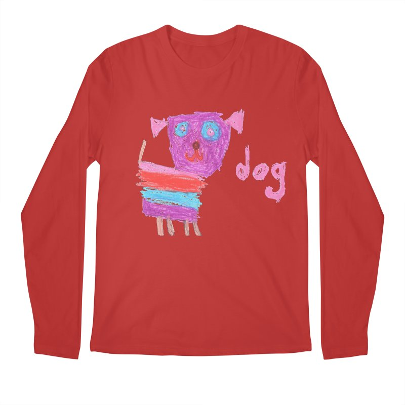 Dog Men's Regular Longsleeve T-Shirt by The Life of Curiosity Store