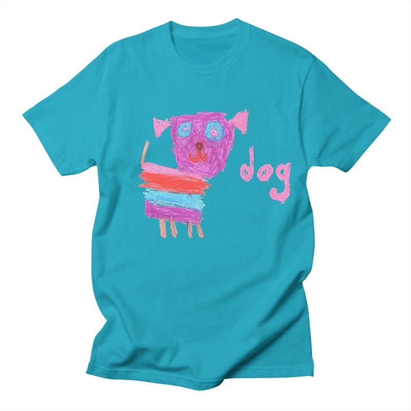 Dog Men's Regular T-Shirt by The Life of Curiosity Store