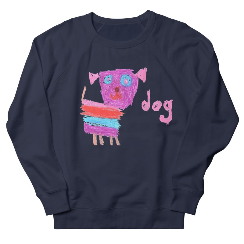 Dog Women's French Terry Sweatshirt by The Life of Curiosity Store