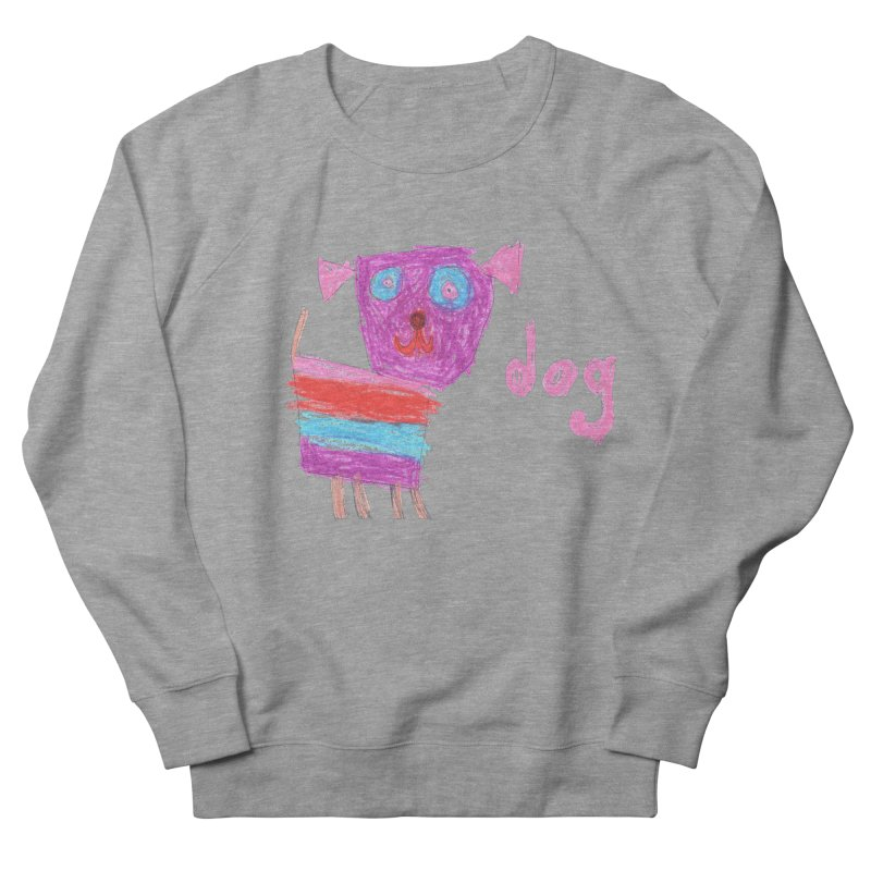 Dog Men's French Terry Sweatshirt by The Life of Curiosity Store