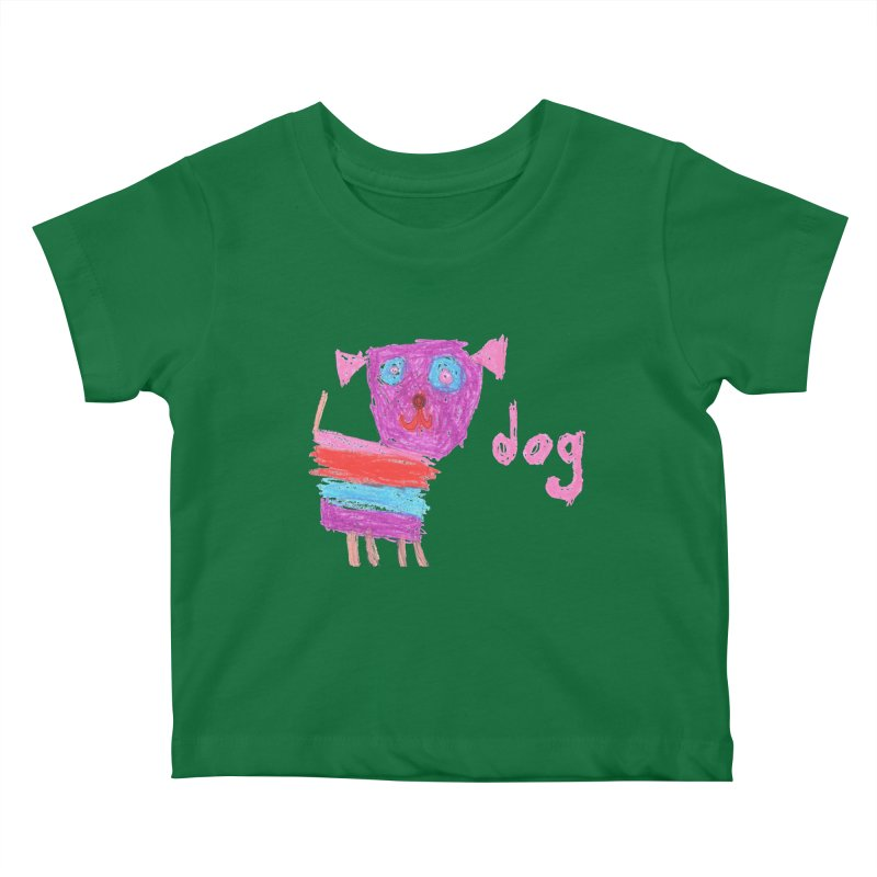 Dog Kids Baby T-Shirt by The Life of Curiosity Store