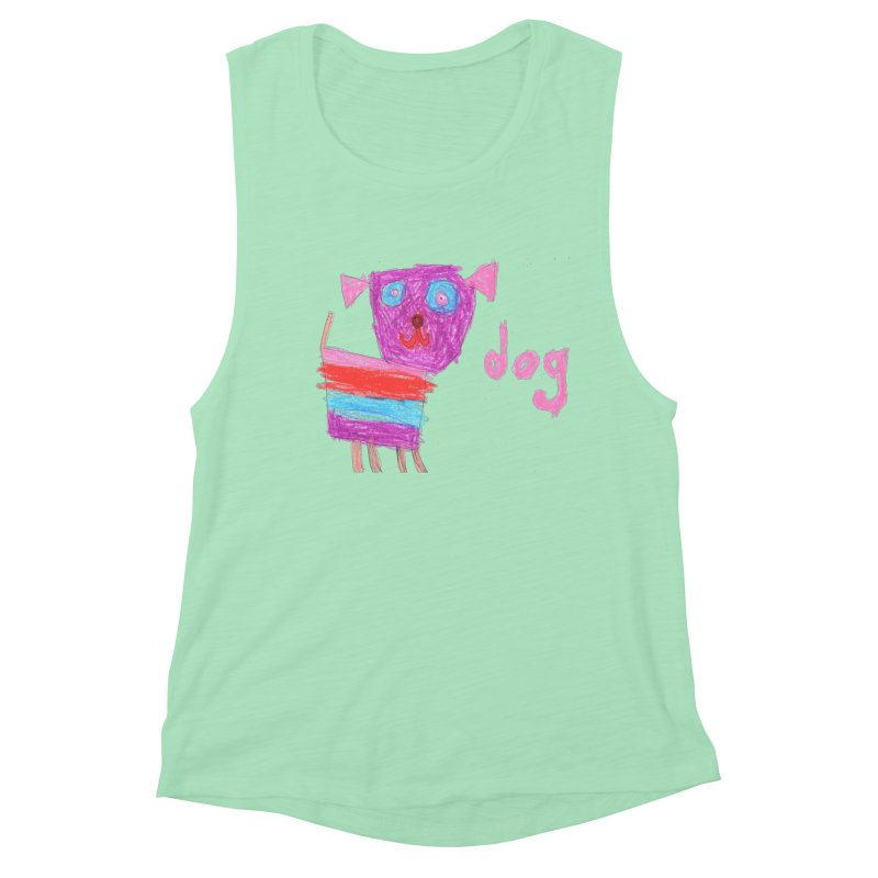 Dog Women's Tank by The Life of Curiosity Store