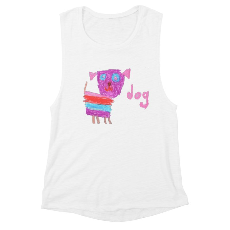Dog Women's Muscle Tank by The Life of Curiosity Store