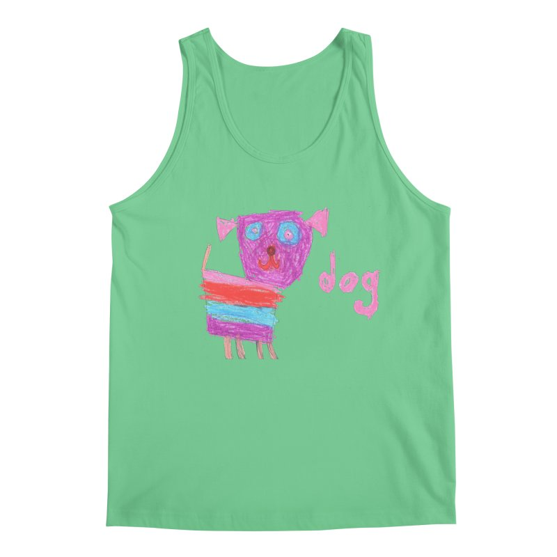 Dog Men's Regular Tank by The Life of Curiosity Store
