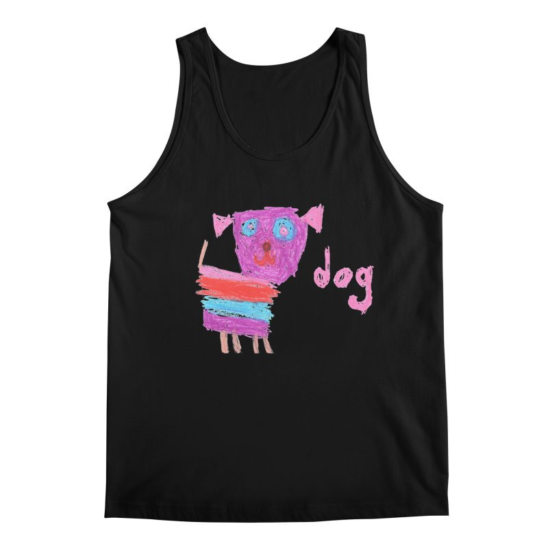 Dog Men's Tank by The Life of Curiosity Store