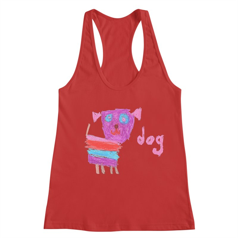 Dog Women's Racerback Tank by The Life of Curiosity Store