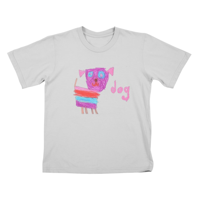 Dog Kids T-Shirt by The Life of Curiosity Store