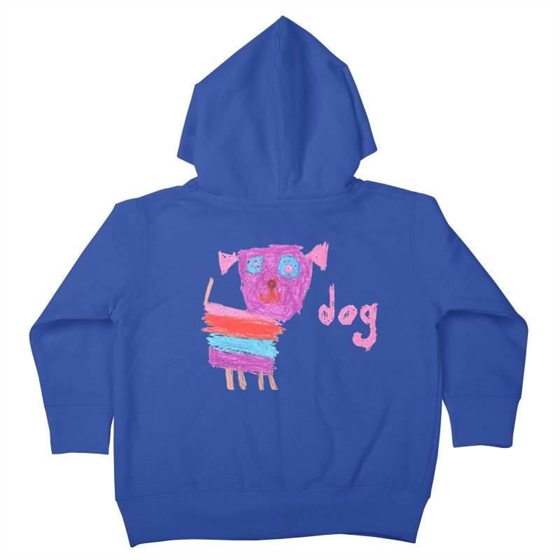 Dog Kids Toddler Zip-Up Hoody by The Life of Curiosity Store