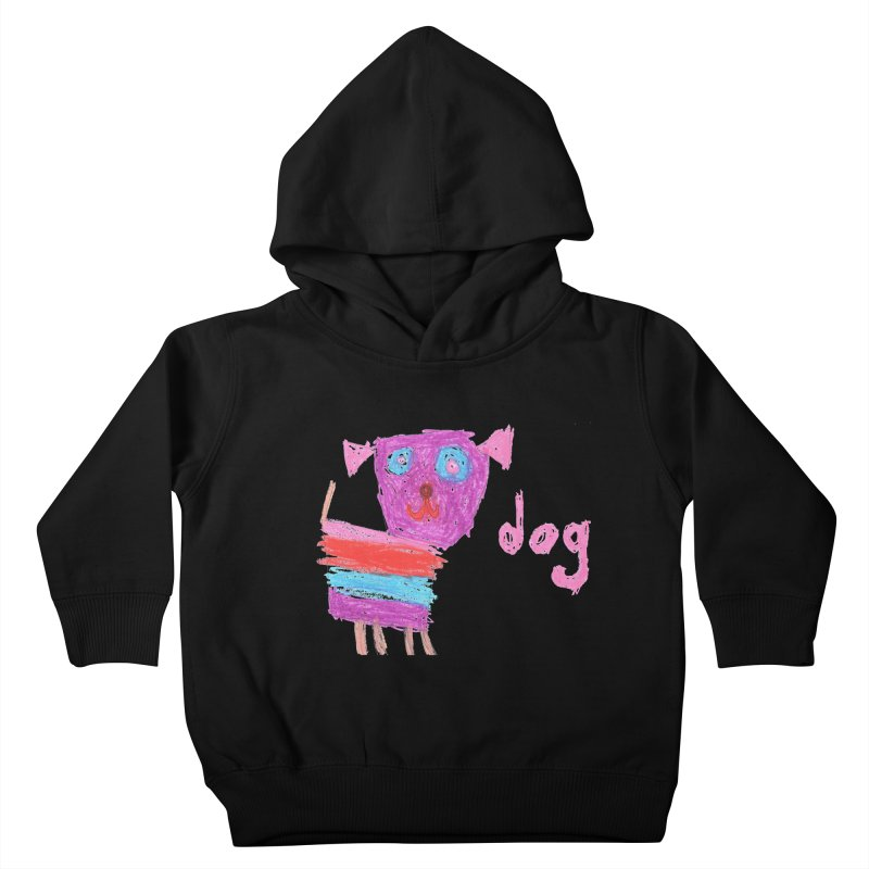 Dog Kids Toddler Pullover Hoody by The Life of Curiosity Store