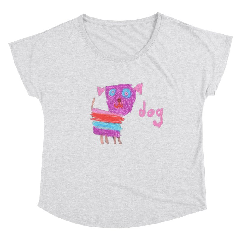 Dog Women's Dolman Scoop Neck by The Life of Curiosity Store