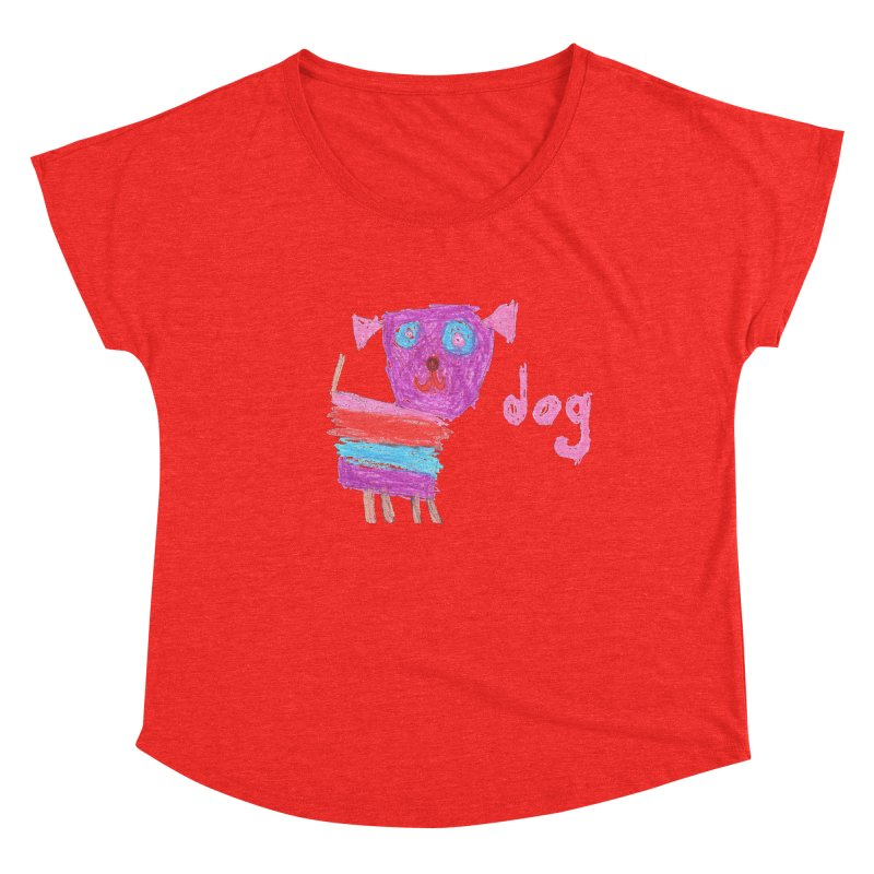 Dog Women's Scoop Neck by The Life of Curiosity Store