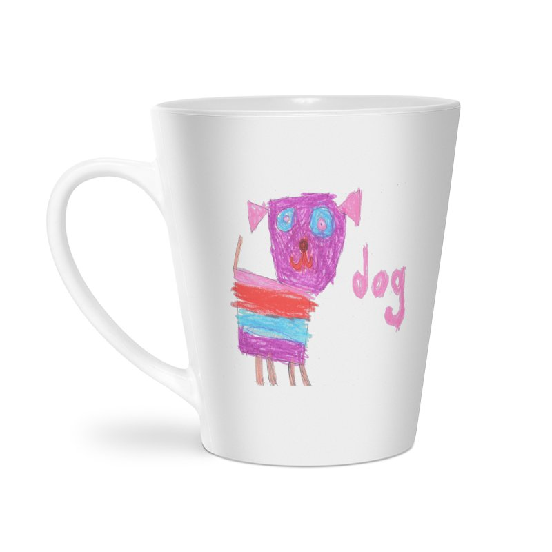 Dog Accessories Latte Mug by The Life of Curiosity Store