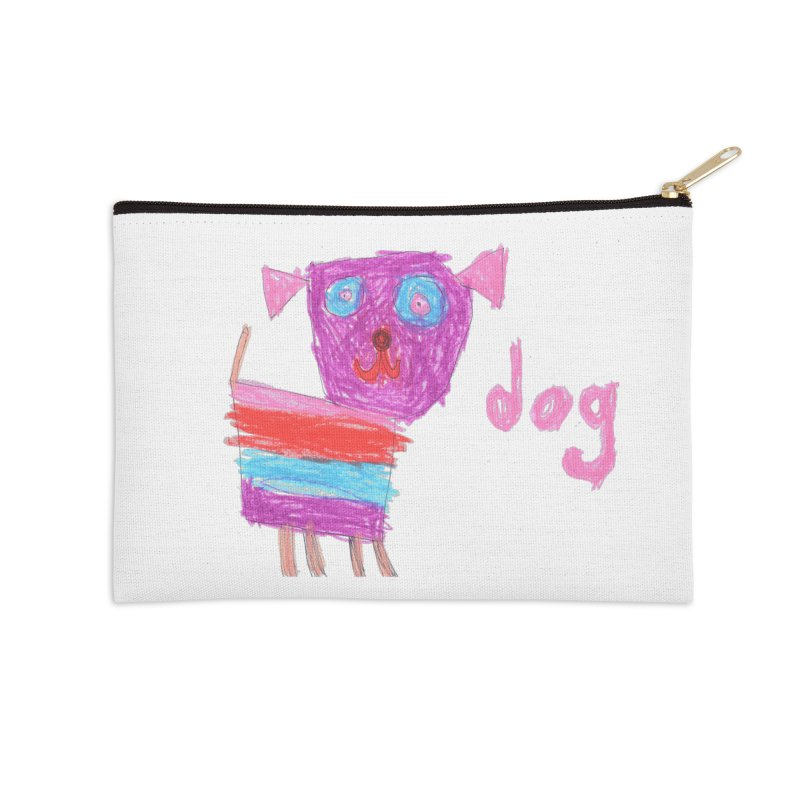 Dog Accessories Zip Pouch by The Life of Curiosity Store