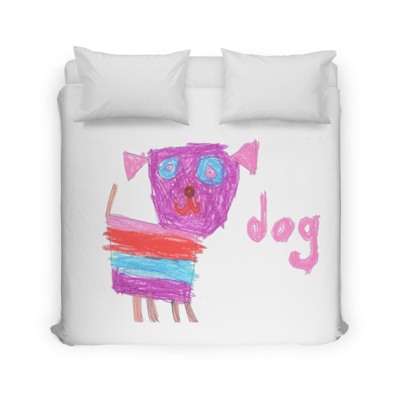 Dog Home Duvet by The Life of Curiosity Store