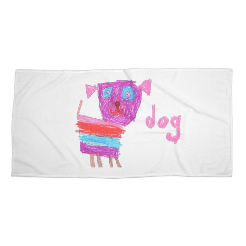 Dog Accessories Beach Towel by The Life of Curiosity Store