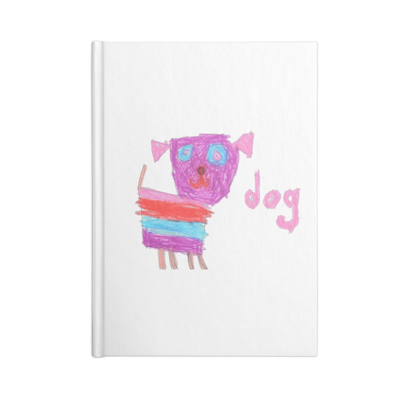 Dog Accessories Lined Journal Notebook by The Life of Curiosity Store