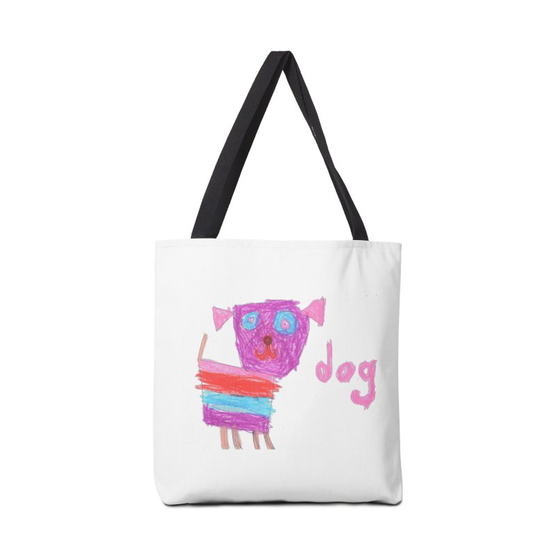 Dog Accessories Tote Bag Bag by The Life of Curiosity Store