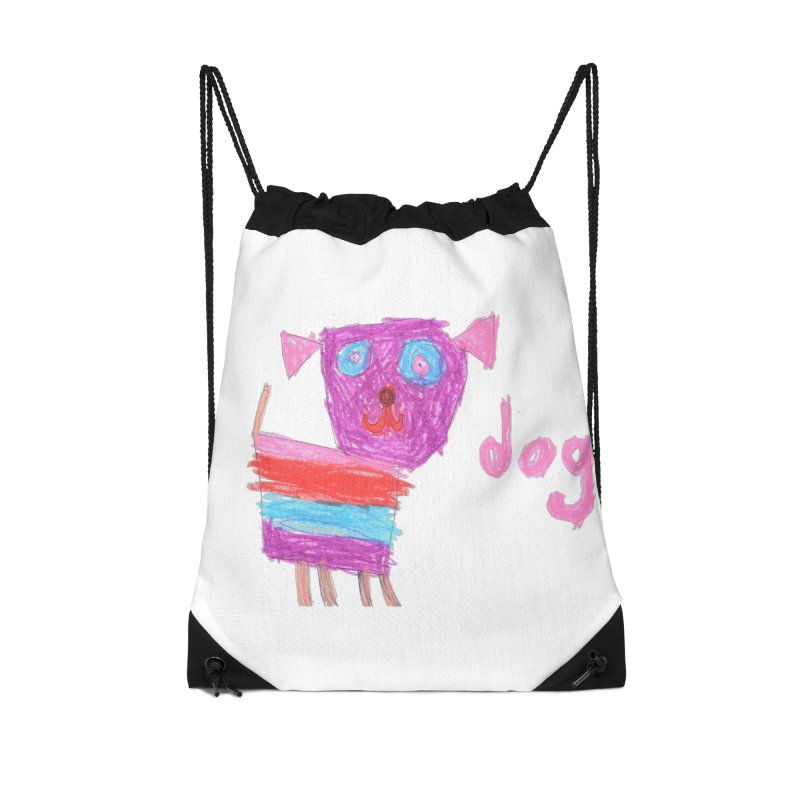 Dog Accessories Drawstring Bag Bag by The Life of Curiosity Store