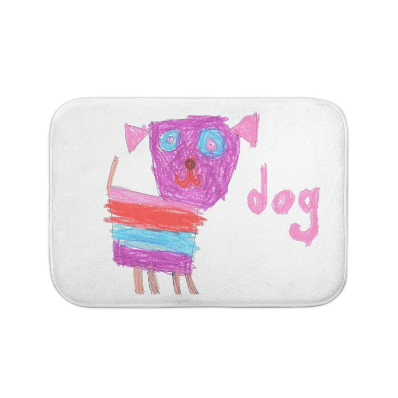 Dog Home Bath Mat by The Life of Curiosity Store