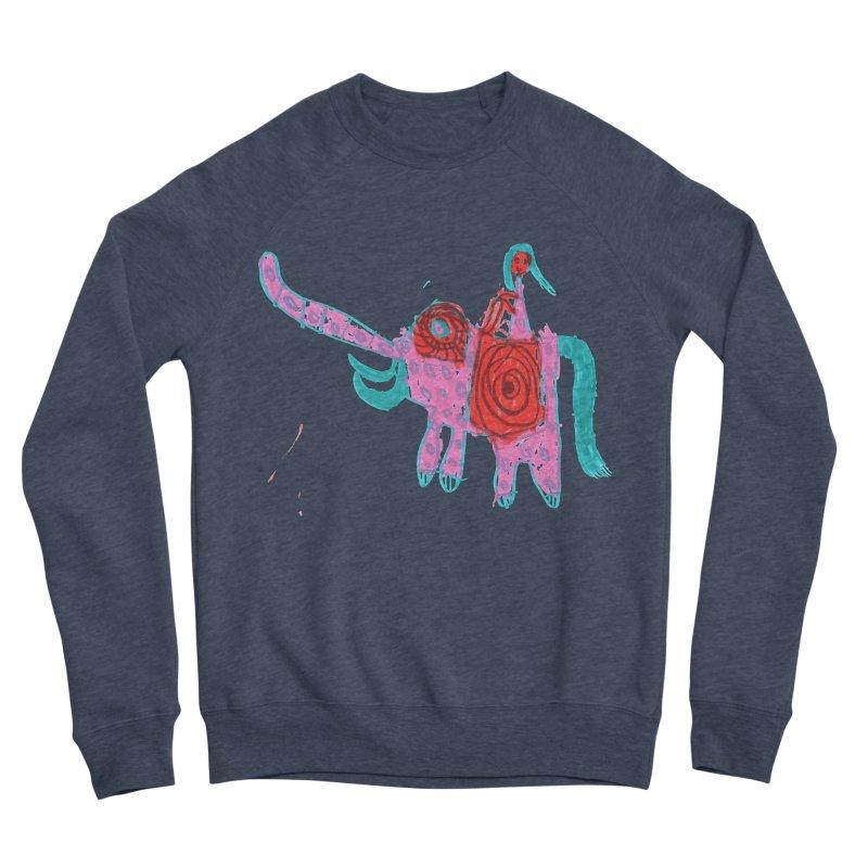 Elephant Rider Women's Sponge Fleece Sweatshirt by The Life of Curiosity Store
