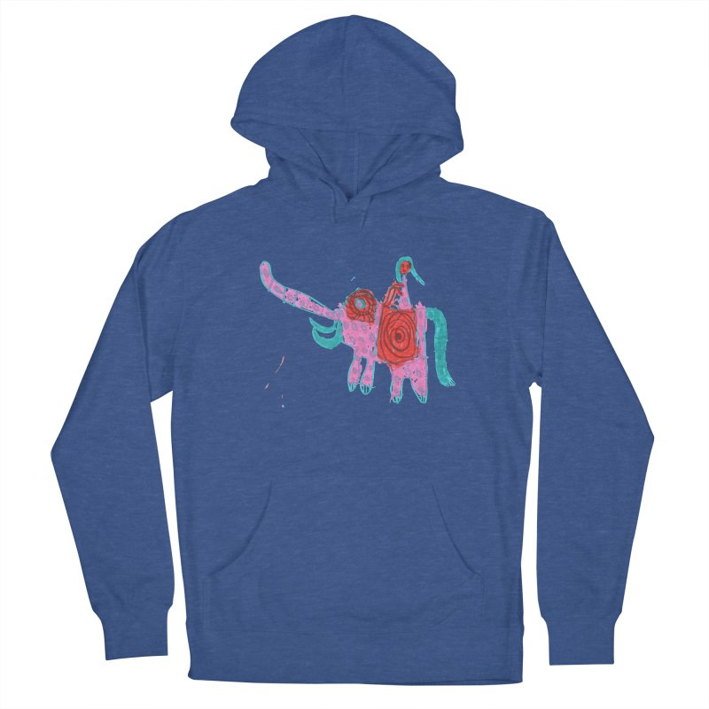 Elephant Rider Men's Pullover Hoody by The Life of Curiosity Store