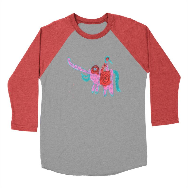 Elephant Rider Women's Longsleeve T-Shirt by The Life of Curiosity Store