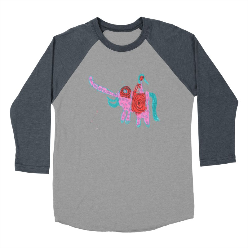 Elephant Rider Men's Longsleeve T-Shirt by The Life of Curiosity Store