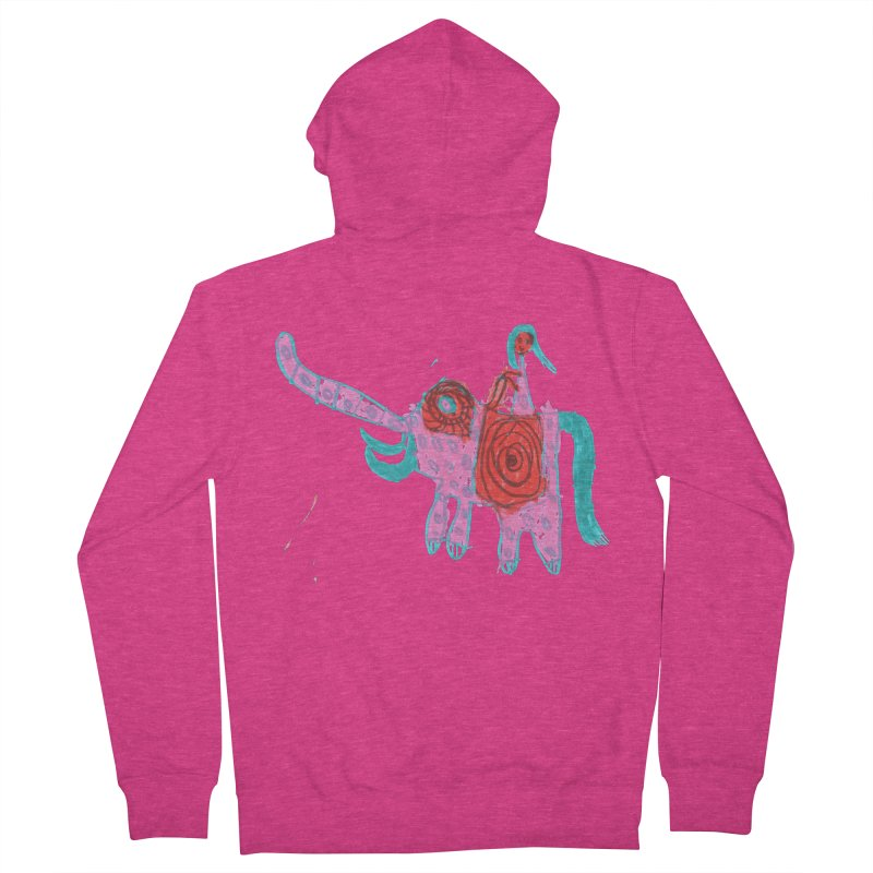 Elephant Rider Women's Zip-Up Hoody by The Life of Curiosity Store