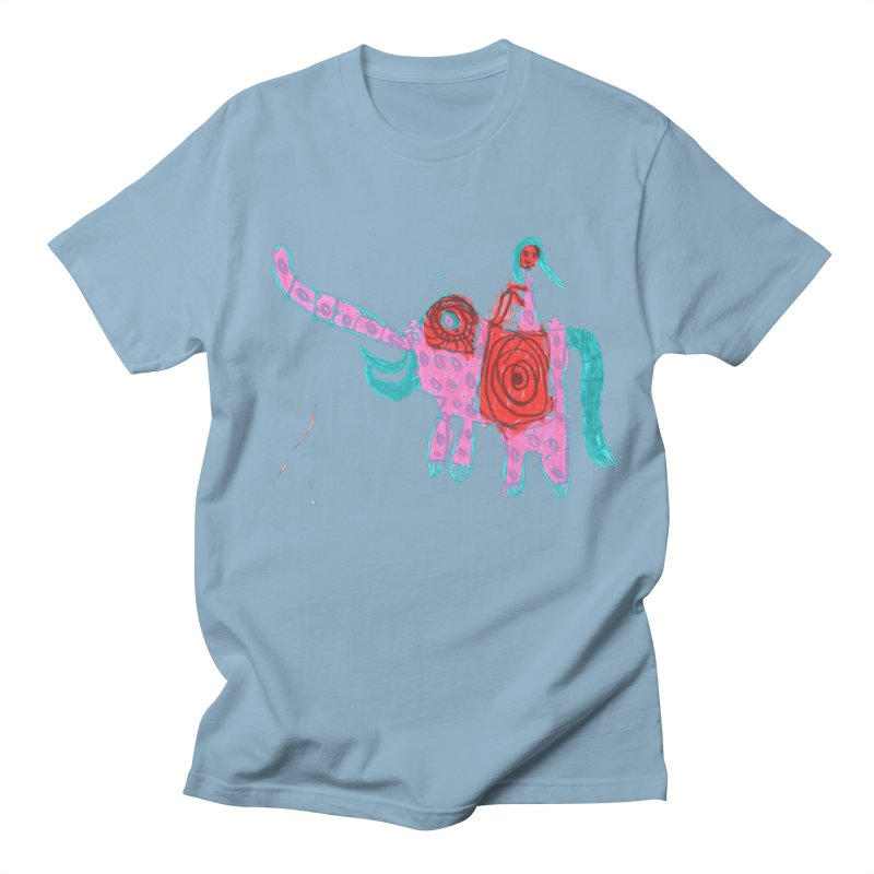 Elephant Rider Men's T-Shirt by The Life of Curiosity Store