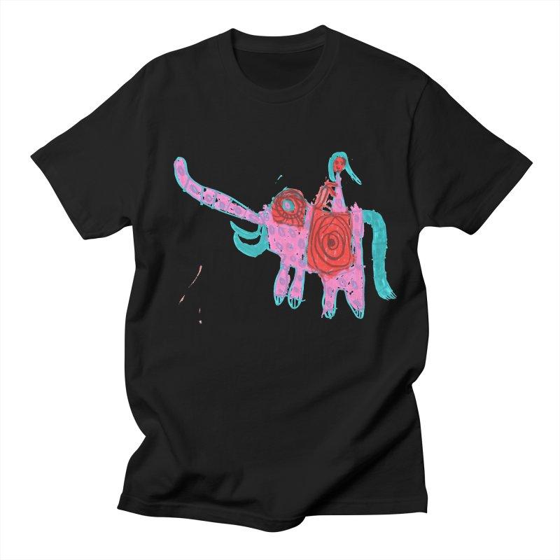 Elephant Rider Women's Regular Unisex T-Shirt by The Life of Curiosity Store