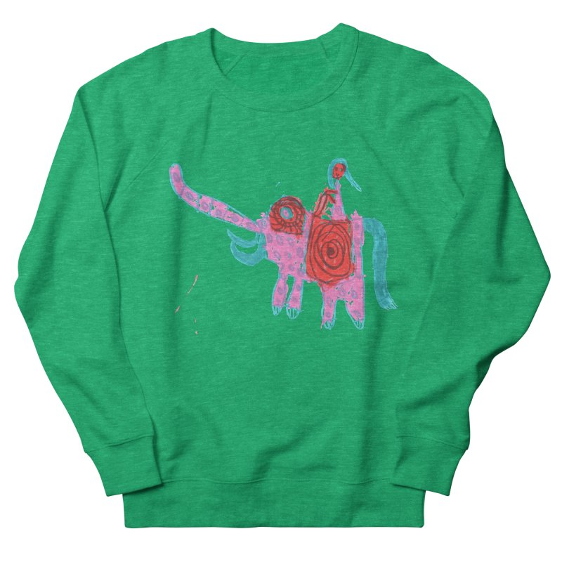 Elephant Rider Women's Sweatshirt by The Life of Curiosity Store