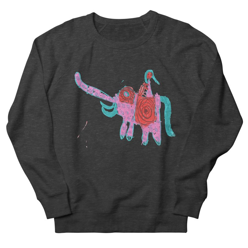 Elephant Rider Men's French Terry Sweatshirt by The Life of Curiosity Store