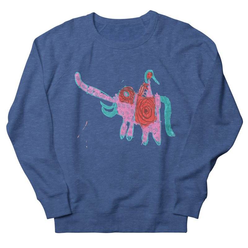 Elephant Rider Men's Sweatshirt by The Life of Curiosity Store