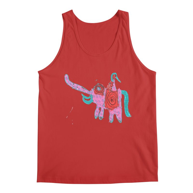 Elephant Rider Men's Tank by The Life of Curiosity Store