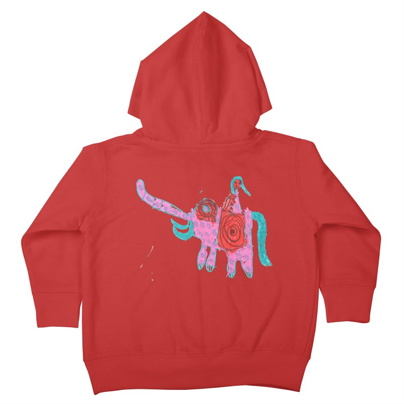 Elephant Rider Kids Toddler Zip-Up Hoody by The Life of Curiosity Store
